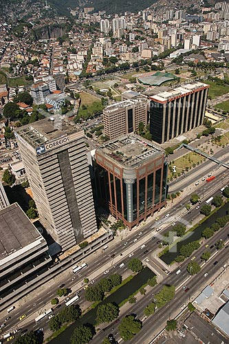 Assunto: Vista aérea da sede da Prefeitura do Rio de Janeiro, na Avenida Presidente Vargas / Local: Rio de Janeiro - RJ - Brasil / Data: Março de 2005