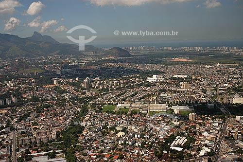 Assunto: Vista aérea de Jacarepaguá / Local: Rio de Janeiro - RJ - Brasil / Data: Março de 2005