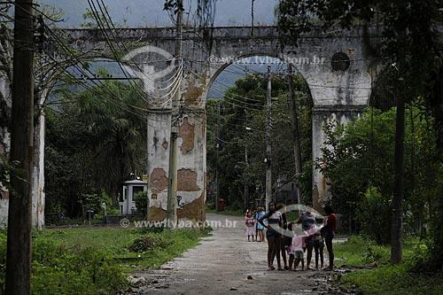 Assunto: Colônia Juliano Moreira - Aqueduto - Núcleo Histórico  / Local:  Jacarepaguá - Rio de Janeiro - RJ  / Data: 27/07/2009