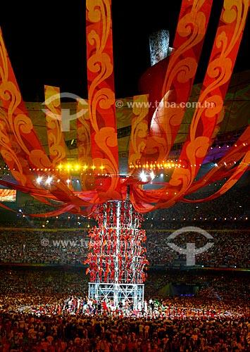 Assunto: Cerimônia de encerramento dos Jogos Olímpicos de Pequim  / Local:  Pequim - China  / Data: Agosto de 2008