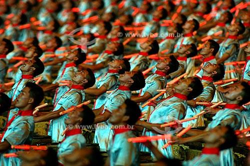 Assunto: Cerimônia de abertura dos Jogos Olímpicos de Pequim  / Local:  Pequim - China  / Data: Agosto de 2008
