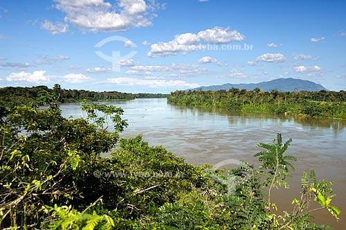 Assunto: Rio Mucajaí  / Local:  Perto de Mucajaí - Roraima - Brasil  / Data: Janeiro de 2009