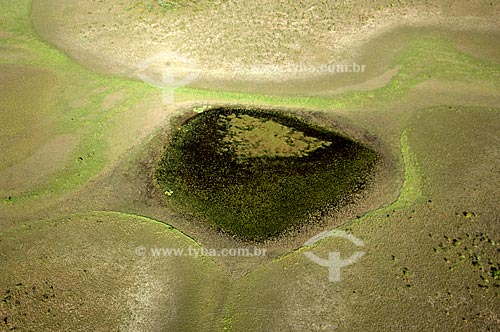 Assunto: Lagoa do Lavrado de Roraima e campos inundáveis  / Local:  Sudoeste de Boa Vista - Roraima - Brasil  / Data: Janeiro de 2006