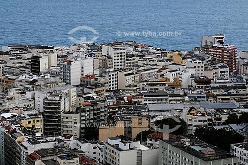 Assunto: Prédios de Ipanema vistos do Morro Pavão Pavãozinho / Local: Rio de Janeiro / Data: outubro 2009