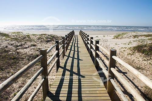 Assunto: Praia do Mar Grosso  / Local:  Laguna - Santa Catarina (SC) - Brasil  / Data: 15/08/2009