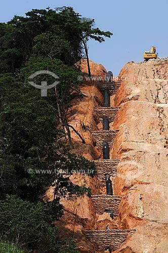Assunto: Dutos enterrados da Transpetro / Local: próximo à Magé - Baixada Fluminenese - Rio de Janeiro / Data: 11-2009