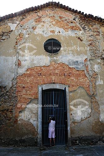 Igreja de Nossa Senhora da Piedade do Inhomirim, igreja onde segundo o IPAHB (Instituto de Pesquisas e Análises Históricas e de Ciências Sociais da Baixada Fluminense), foi batizado Luiz Alves de Lima e Silva (Duque de Caxias),construção de 1754, século 18   - Magé - Rio de Janeiro - Brasil