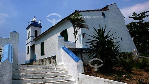 Igreja de Nossa Senhora da Guia de Pacobaíba, segundo o IPAHB (Instituto de Pesquisas e Análises Históricas e de Ciências Sociais da Baixada Fluminense), foi concluída em fins do século 17 e início do século 18    - Mauá - Rio de Janeiro - Brasil