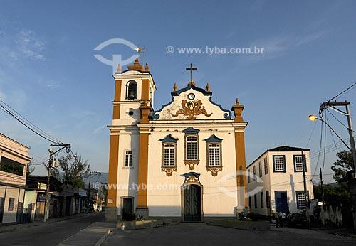 Assunto: Nossa Senhora da Piedade de Magé, concluída em 1751, século 18 / Local: Magé - Baixada Fluminense - Rio de Janeiro - RJ  / Data: 11/2009