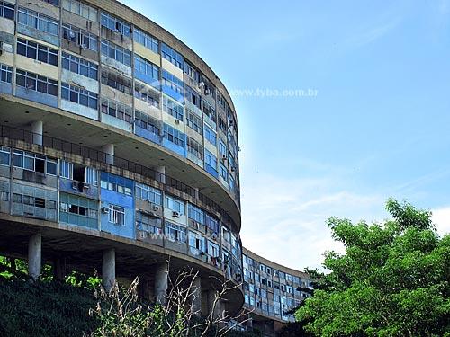 Assunto: Conjunto Residencial Prefeito Mendes de Moraes (Pedrgulho), obra do arquiteto Affonso Eduardo Reidy  / Local:  São Cristovão - Rio de Janeiro - RJ  / Data: Novembro de 2009