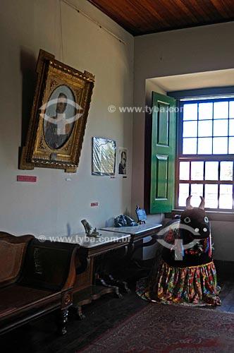 Assunto: Sala com mobiliário do Barão Inoã, responsável pela construção da Estrada de Ferro de Maricá / Local: Antiga Casa de Câmara e Cadeia, atual Casa de Cultura - Maricá - Costa do Sol - Rio de Janeiro - RJ /  Data: 11/2009