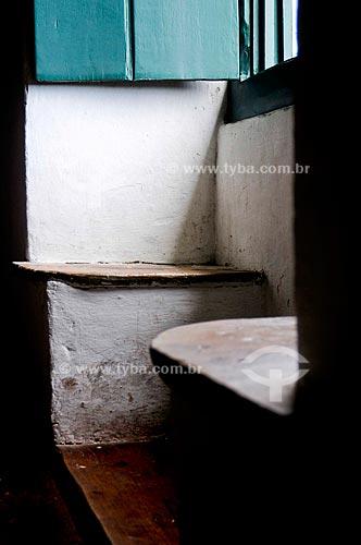 Assunto: Assento na Paróquia de São Pedro, antigo Colégio dos Jesuítas / Local: São Pedro da Aldeia - Região dos Lagos - Costa do Sol - Rio de Janeiro - RJ / Data: 11-2009