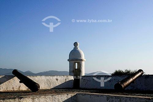 Assunto: Torre de guarda no Forte São Mateus (século 17) /Local: Cabo Frio - Região dos Lagos - Costa do Sol - Rio de Janeiro / Data: 11-2009