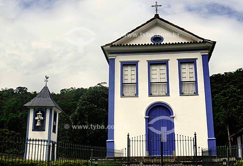 Assunto: Igreja de São José das Taboas, construída em 1865, século 19 / Local: Taboas - Rio das Flores - Vale do Paraíba - Rio de Janeiro - RJ / Data: 11-2009
