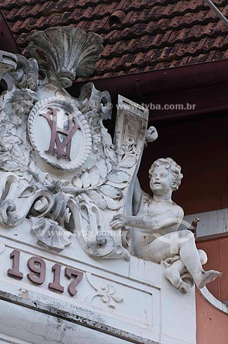 Assunto: Hotel Valenciano construção de 1917 em estilo renascentista / Local: Valença - Vale do Paraíba - Rio de Janeiro - RJ / Data: 11-2009