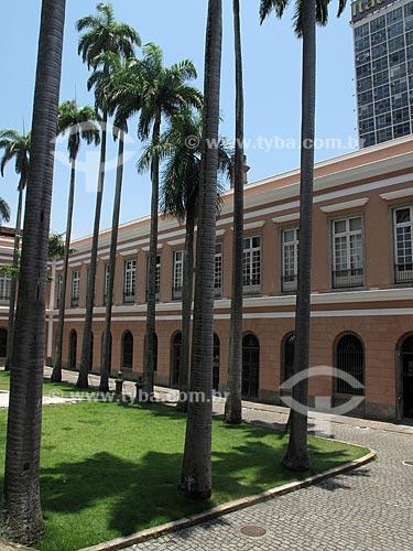 Assunto: Pátio interno do Arquivo Nacional, no prédio da Antiga Casa da Moeda  / Local:  Praça da República - Rio de Janeiro - RJ  / Data: Dezembro de 2009