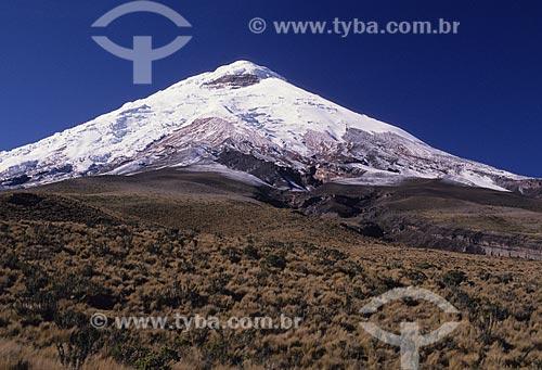 Assunto: Vulcão de Cotopaxi, na cordilheira dos Andes / Local: Equador / Data: 1999