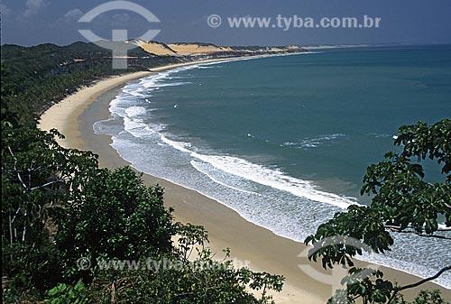 Assunto: Vista da Praia da Pipa / Local: Tibau do Sul - Rio Grande do Norte (RN) / Data: 2001