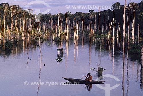 Assunto: Lago do Limão / Local: Próximo a Manaus -  Amazônia (AM)