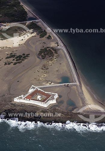 Assunto: Vista aérea do forte dos reis magos / Local: Natal - Rio Grande do Norte (RN) / Data: 2002