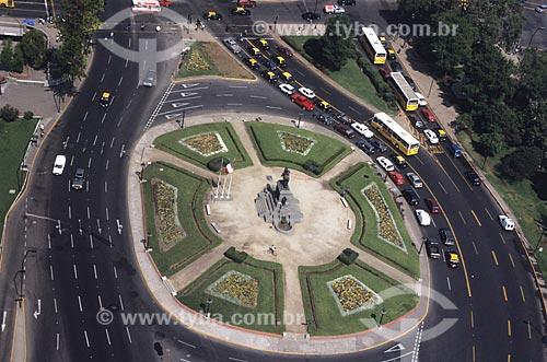 Assunto: Praça Baquedano / Local: Santiago - Chile
