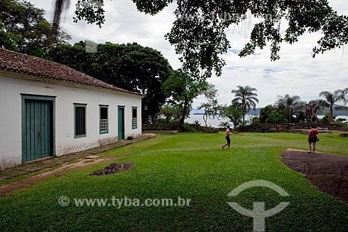 Assunto: Casa - Sede do antigo Forte Defensor Perpétuo  (1703) , hoje Centro de Artes de Tradições  Populares de Paraty   / Local:  Paraty - Costa Verde - Rio de Janeiro  / Data: Janeiro 2010