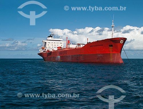 Assunto: Navio Cargueiro / Local: Baia de Todos os Santos - Bahia - Brazil / Data: 30/07/2009