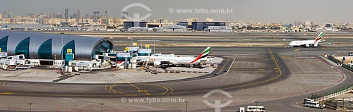 Assunto: Aeroporto Internacional de Dubai  / Local:  Dubai - Emirados Árabes Unidos  / Data: 01/2009