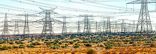 Assunto: Linhas de Transmissão de Energia Elétrica  / Local:  Dubai - Emirados Árabes Unidos  / Data: 01/2009
