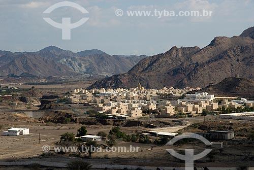 Assunto: Serra de Al Hajar - Vista de bairro novo em Hatta  / Local:  Dubai - Emirados Árabes Unidos  / Data: 01/2009