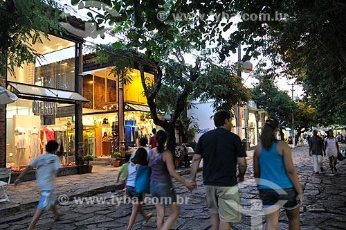 Assunto: Búzios - Rua das Pedras  / Local:  Búzios - Rio de Janeiro - RJ - Brasil  / Data: 2009