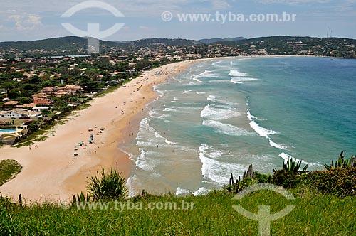 Assunto: Vista geral da Praia de Geribá  / Local:  Búzios - Rio de Janeiro - RJ - Brasil  / Data: 2009