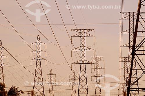 Assunto: Torres de transmissão de energia elétrica  / Local:  Rio de Janeiro (RJ)  / Data: 2009