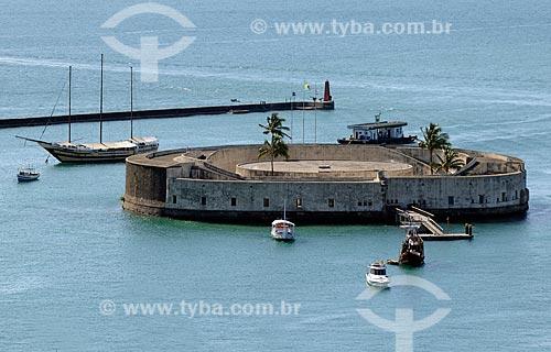 Assunto: Forte do Mar ou São Marcelo  / Local:  Salvador - Bahia (BA)  / Data: 2009