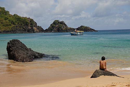 Assunto: Praia do Sancho  / Local:  Arquipélago de Fernando de Noronha - Pernambuco (PE)  / Data: 2009