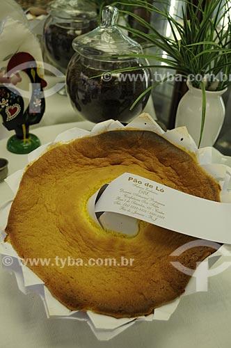 Pão de Ló - Casa Cavé confeitaria tradicional do Centro do Rio de Janeiro  - Rua Uruguaiana  - Rio de Janeiro - Rio de Janeiro - Brasil