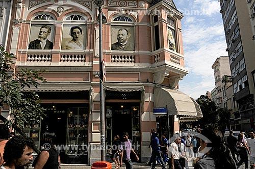 Assunto: Confeitaria Manon (Antiga Casa Cavé em estilo art-déco) - Confeitaria tradicional do Centro do Rio de Janeiro  / Local:  Rio de Janeiro  / Data: Agosto 2009