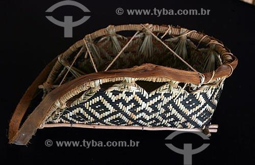 Artesanato do tribo Waimiri-Atroari  - Manaus - Amazonas - Brasil