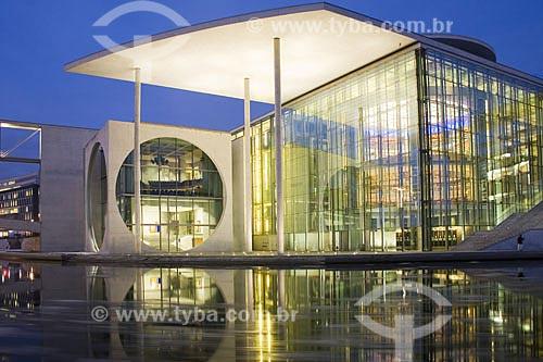 Assunto: Marie Elisabeth Luders Haus, prédio que abriga escritórios do Parlamento alemão, biblioteca e um repositório   / Local:  Berlim - Alemanha  / Data: 14/01/2009