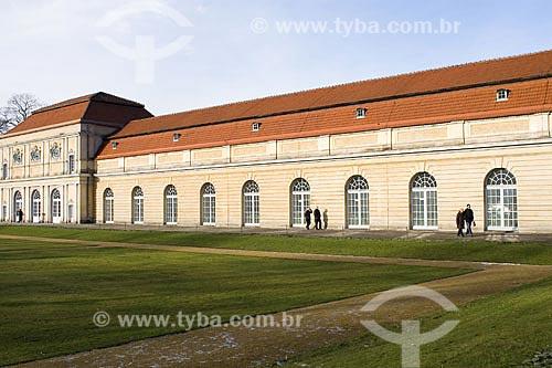 Assunto: Orangerie, Palácio de Charlottenburg  / Local:  Berlim - Alemanha  / Data: 19/01/2009
