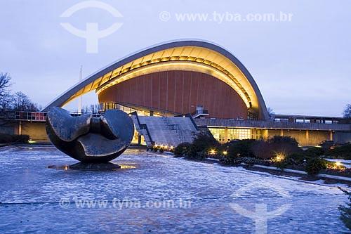 Assunto: Casa das Culturas do Mundo (Haus der Kulturen der Welt)  / Local:  Berlim - Alemanha  / Data: 19/01/2009