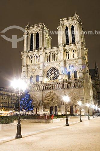 Assunto: Catedral de Notre Dame  / Local:  Paris - França  / Data: 26/01/2009