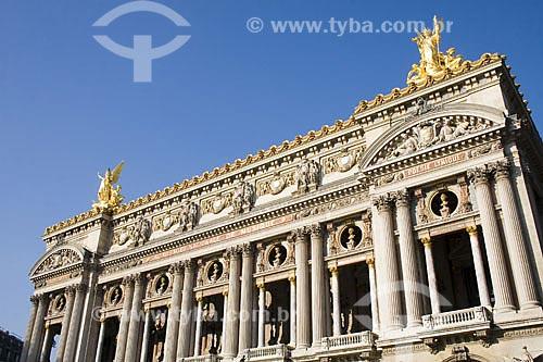 Assunto: Palais Garnier, conhecido como Ópera de Paris ou Ópera Garnier  / Local:  Paris - França  / Data: 29/01/2009