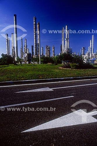 Assunto: Fábrica da Braskem S.A no Pólo Industrial de Camaçari  / Local:  Camaçari - Bahia (BA) - Brasil  / Data: Novembro de 2007