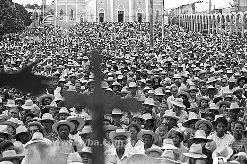 Assunto: Procissão Católica em Juazeiro do Norte  / Local:  Juazeiro do Norte - Ceará - Brasil  / Data: 11/1998