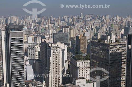 Assunto: Vista da cidade de São Paulo  / Local:  São Paulo - SP - Brasil  / Data: 29/06/2009