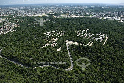 Assunto: Prédios e Mata da Universidade Federal do Amazonas - UFAM  / Local:  Manaus - Amazonas (AM) - Brasil  / Data: 11/2007