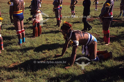 Assunto: Comemoração do dia do índio em brasília  / Local:  Brasília - Brasil  / Data: 2002