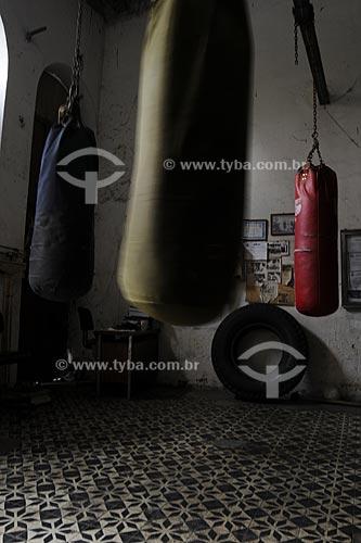 Assunto: Academia Santa Rosa de boxe  / Local:  Largo do São Francisco da Prainha - Centro do Rio de Janeiro - RJ - Brasil  / Data: 04/2008