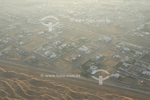 Assunto: Periferia da cidade de Al Ain, perto do deserto / Local: Cidade de Al Ain -  Estado de Abu Dhabi - Emirados Árabes Unidos / Data: Janeiro 2009